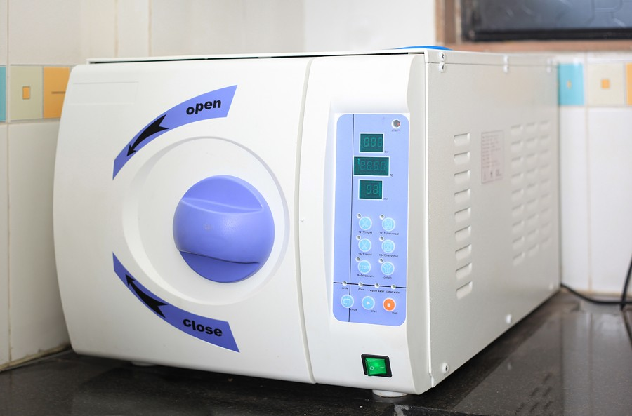 B class autoclave at Smilekraft Dentistry
